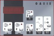 OASIS Control panel for manual operation